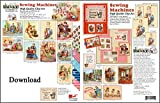 ScrapSMART - Sewing Machines Vintage Collection Software in Jpeg and PDF Files for Mac [Download]