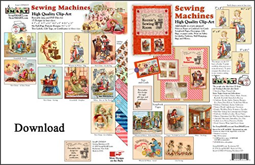 ScrapSMART - Sewing Machines Vintage Collection Software in Jpeg and PDF Files for Mac [Download] by ScrapSMART