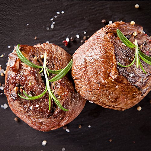 Porter & York Natural Angus Filet Mignon, Four 6oz Filets