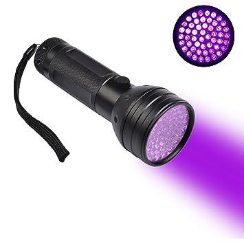 21 LED UV Flashlight Torch Light 395nm Ultra Violet Light UV Lamp YI