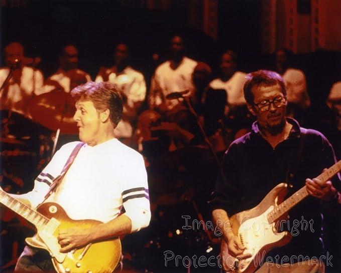 Eric Clapton 8x10 Color Photo