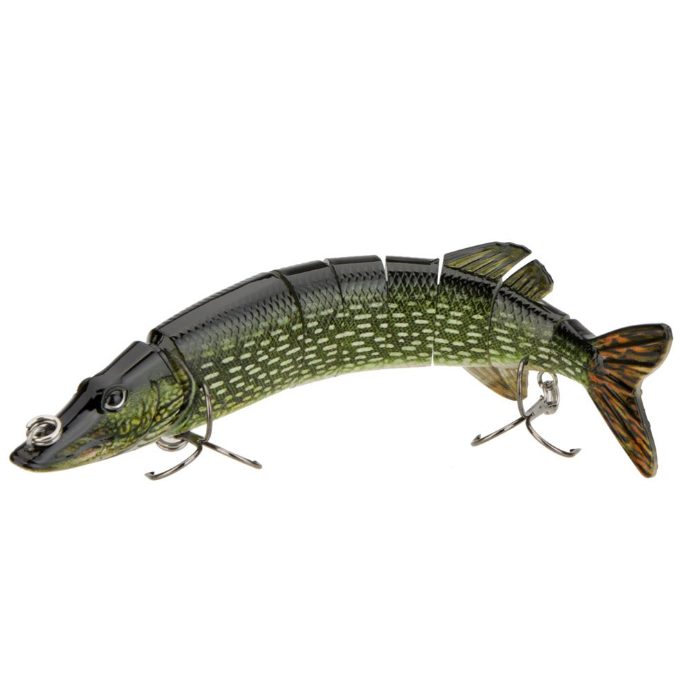 Lixada 8-inch multi-segment and jointed hard plastic lure