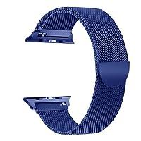 Tervoka Correa Apple Watch 42mm(44mm Series 4)/ 38mm(40mm Series 4), Milanese Loop Correa de Acero Inoxidable Reemplazo de Banda de la Muñeca para Apple Watch Series 4/3/2/1, All Models Available