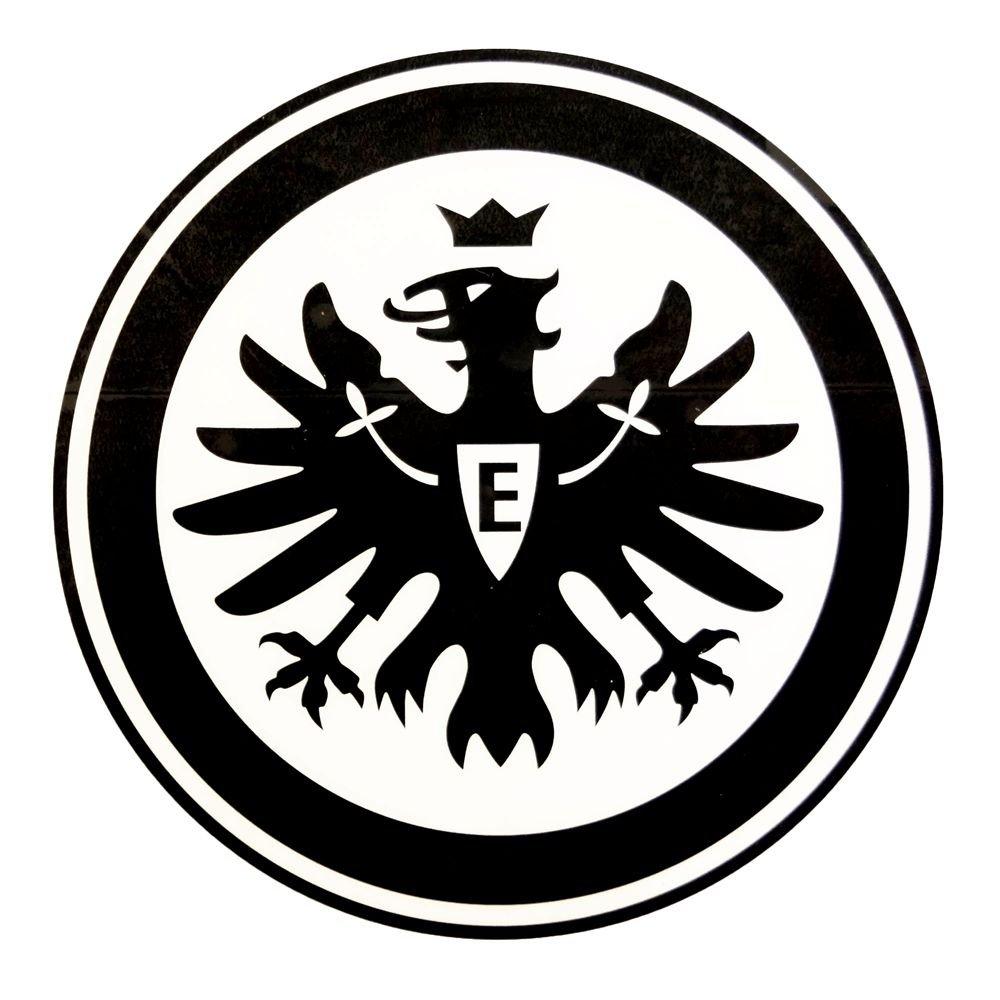 plus gratis Lesezeichen I love Frankfurt Unbekannt Eintracht Frankfurt Aufkleber Autoaufkleber Logo Innen Sticker