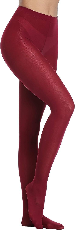 Abollria Collant Donna 80 Denari Vita Alta Coprenti Elasticizzate Tights Microfibra per Ragazza Calzamaglia per Primavera