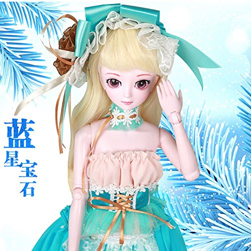 Isabella BJD Dolls 1/4 SD Doll 45cm 18'' Jointed Dolls Toy Gift for Girl by EVA BJD (Image #2)