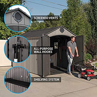 12 x apex storage shed lifetime