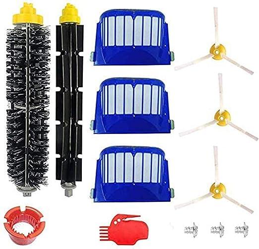Replacement Part Kit For iRobot Roomba 600 610 620 650 Serie Vacuum Brush Filter
