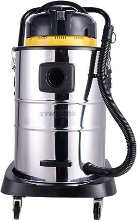 Syntrox Germany - Aspiradora industrial de acero inoxidable, 50 litros, para superficies secas y húmedas: Amazon.es: Hogar