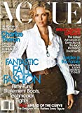 VOGUE Magazine 2007 BRAND NEW UNREAD MAGAZINE IN THE ORIGINAL WRAPPER At Home With Charlize Theron On Roles, Wrangling & Her Really Private Life FANTASTIC FALL FASHION