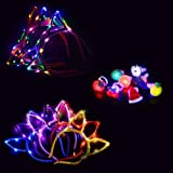 Yuccer Diadema Orejas de Gato luz LED Diadema Headwear Decoración Accesorio Mujeres Niñas Halloween Fiesta Luminosos…
