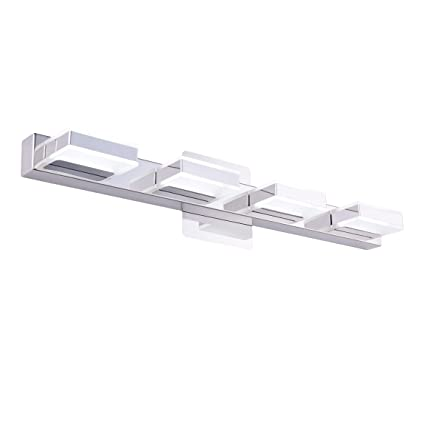 online store 9a976 4ad50 mirrea 16W Modern LED Vanity Light in 4 Lights, Cold White