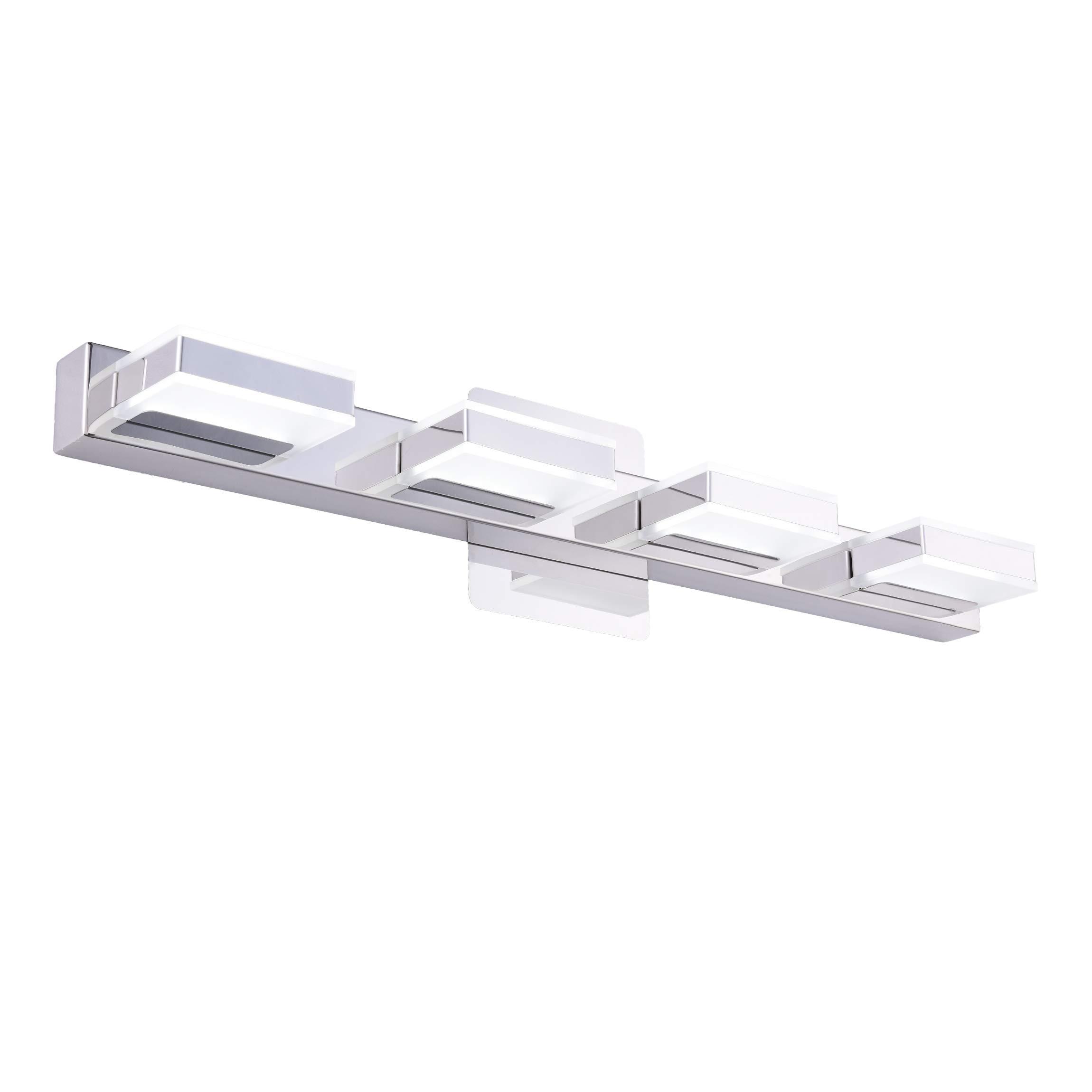 mirrea 16W Modern LED Vanity Light in 4 Lights, Cold White