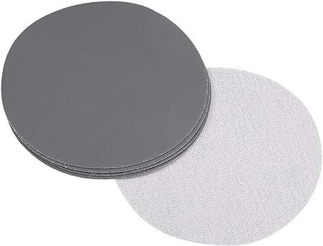 5x 5 Inch 1500 Girit Sanding Disc Sanding Polishing Pad Sandpaper Disc