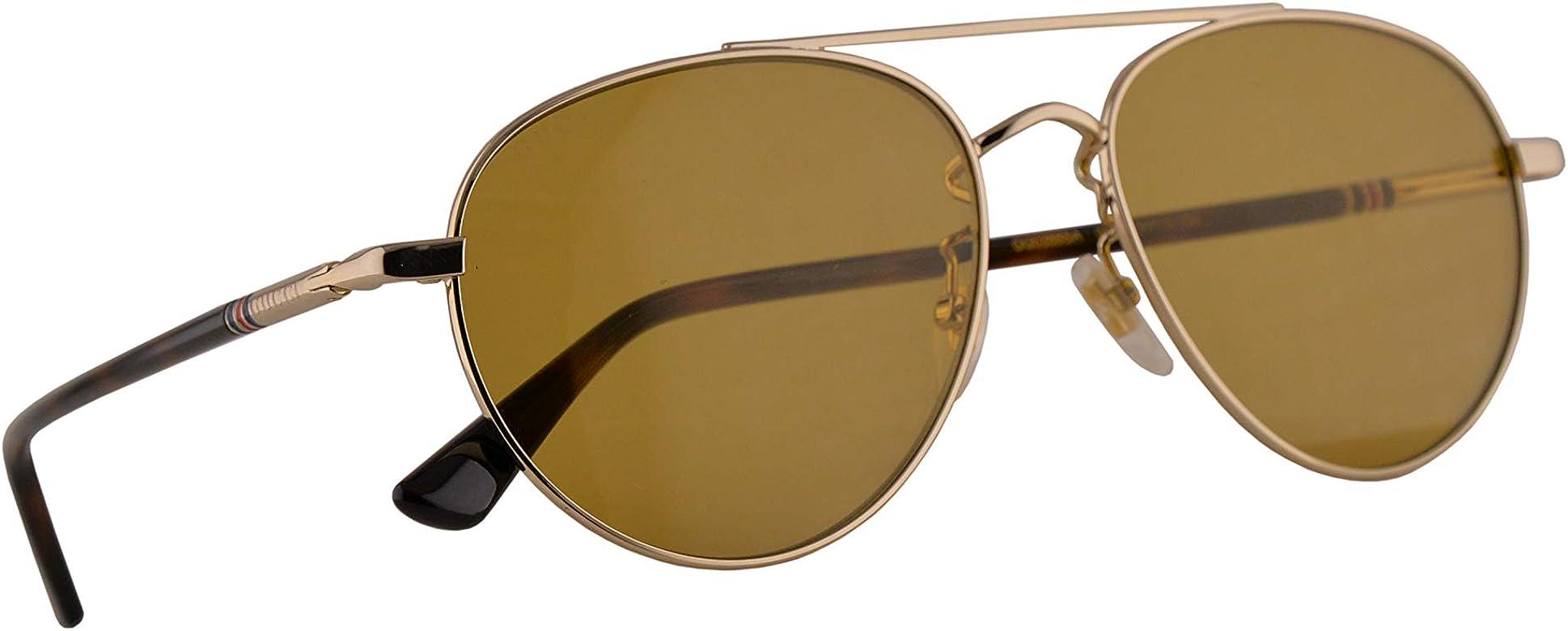 Gucci GG0388SA Gafas De Sol Dorado Con Lentes Marrón 56mm ...