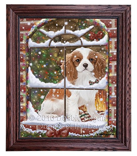 Please Come Home For Christmas Cavalier King Charles Spaniel Dog