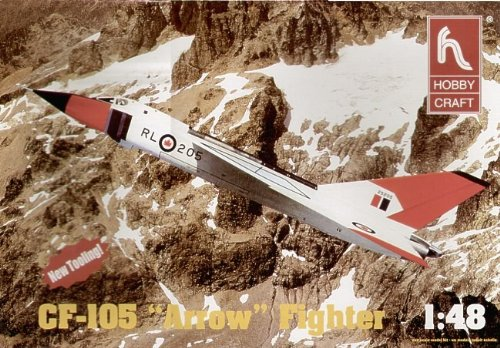 ACADEMY HC1659 1/48 AVRO ARROW