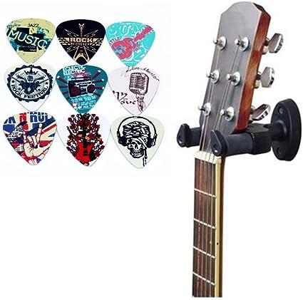 Perchas de pared para guitarra, colgadores de guitarra, soporte de ...