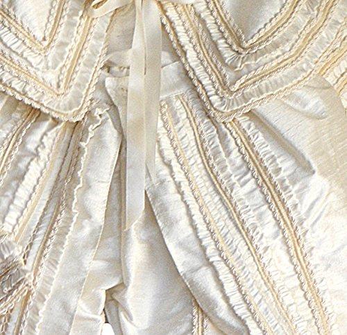 Heirloom Baby Boy's Christening Baptism Gown, Hand Made Ivory (Burbvus Ropones) by Burbvus (Image #1)