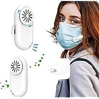 Purificador de ar vestível Breathe Cooler, mini ventilador portátil pessoal, purificador de ar com clipe, ventilador USB…