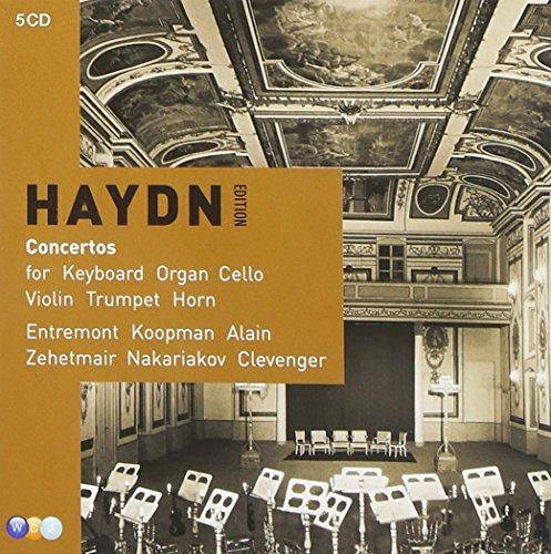 Haydn: Concertos for Piano, Harpsichord, Violin, Trumpet, Horn, Cello & Organ