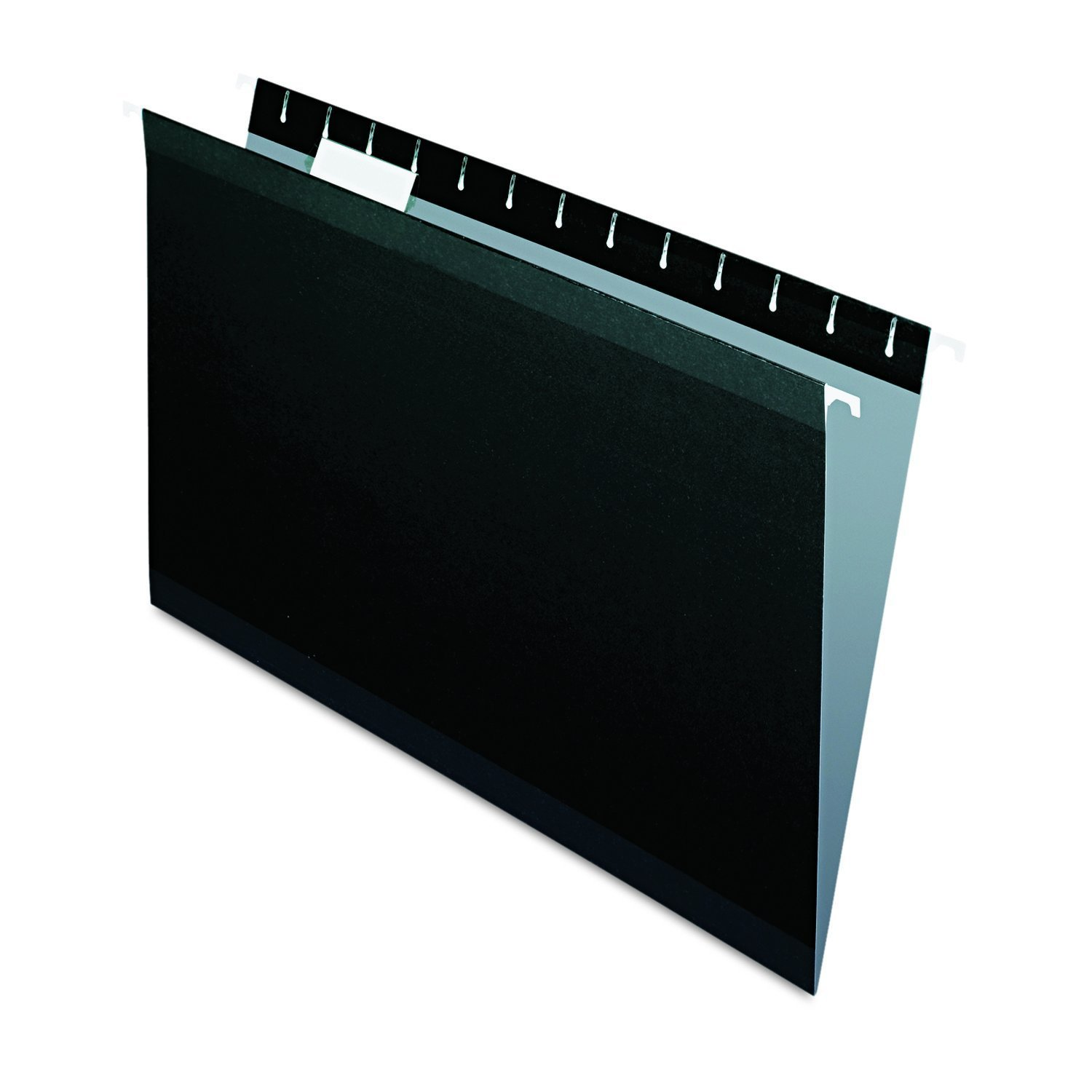 Pendaflex Hanging Folder, Black, 1/5 Tab, Legal, 25 per Box (04153 1/5 BLA) 2-Pack