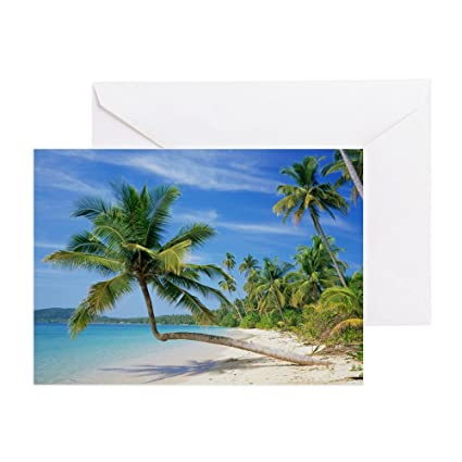 Amazon Com Cafepress Tropical Beach Greeting Card Note Card