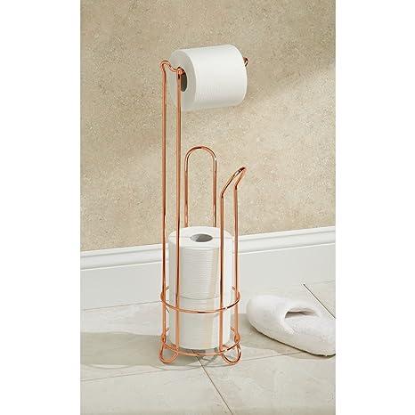 InterDesign Classico Bathroom Free Standing Toilet Tissue Roll ...