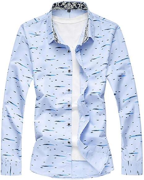 Camisa para Hombre, Hombres Impresos, Camisas Casuales ...