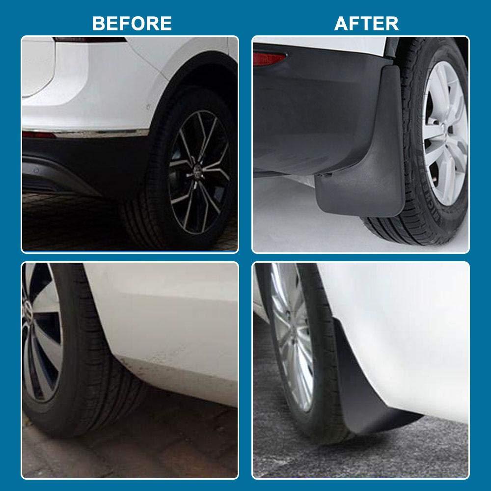 Hamkaw 2019 Toyota RAV4 Schmutzf/änger f/ür vorne und hinten Spritzschutz-Set 2019 Toyota RAV4 Zubeh/ör f/ür Ihr Auto sauber halten