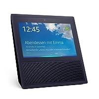 Echo Show (2. Generation), Intelligenter Lautsprecher mit 7-Zoll Bildschirm und Alexa - schwarz