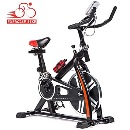 2d39478945b BestMassage Cycling Bike Exercise Bike Pro Indoor Cycling Spin Bike Trainer  Bicycle Cardio Fitness Heart Pulse