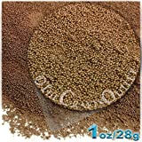 The Crafts Outlet MCR-GLS-MTL-MA6-MCK Metallic Glass Microbead, 1 Bag of 1-Ounce, Brown Mocka