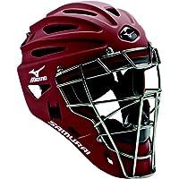 Mizuno Samurai G4 Baseball Catcher's Helmet, Beige