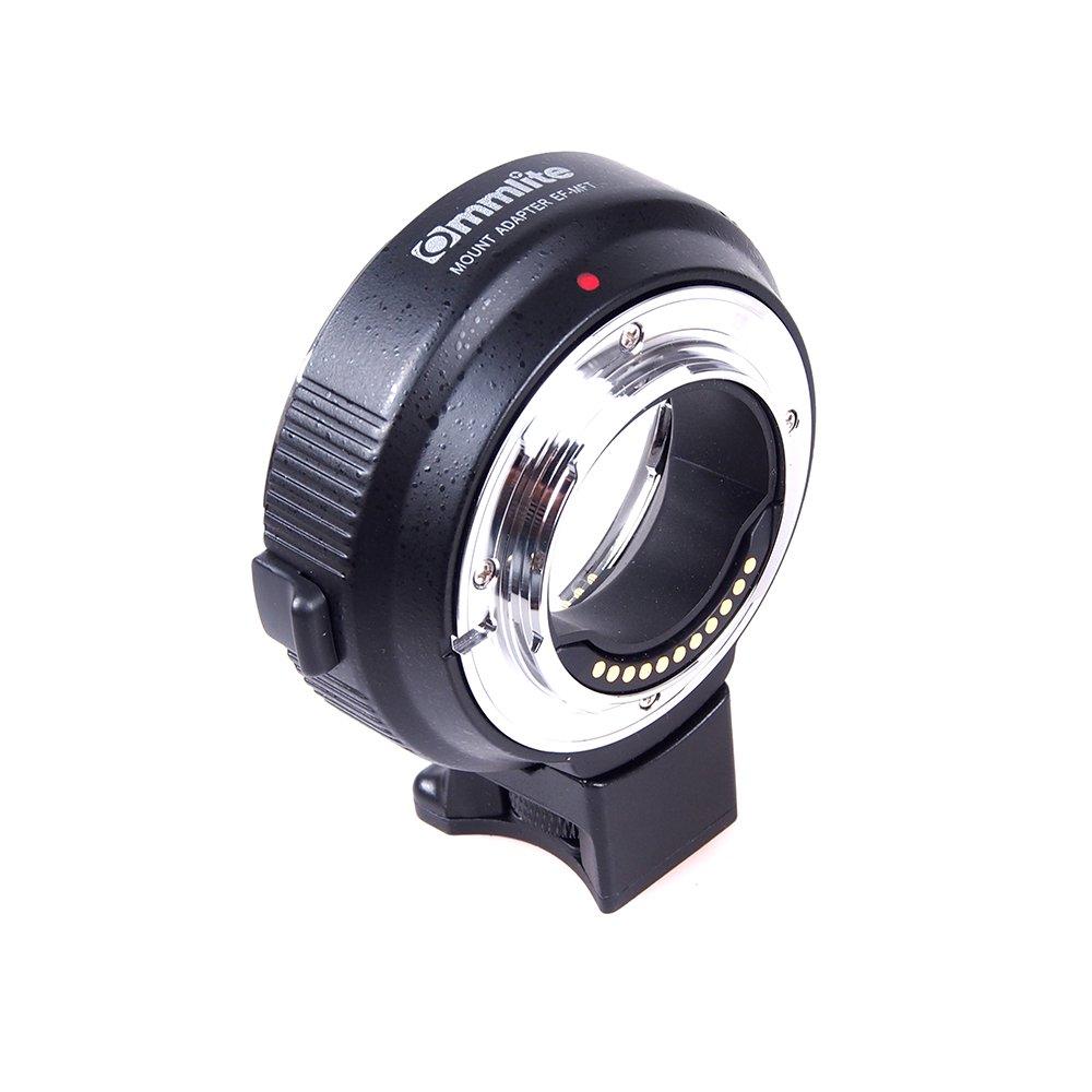 Commlite電子絞り制御組み込みisレンズマウントアダプタef-m4 / 3からCanon EOS EF / EF - Sレンズto m4 / 3カメラPanasonic gh3 gh4、Olympus om-d E - 5、e-m10   B0737XFGMV