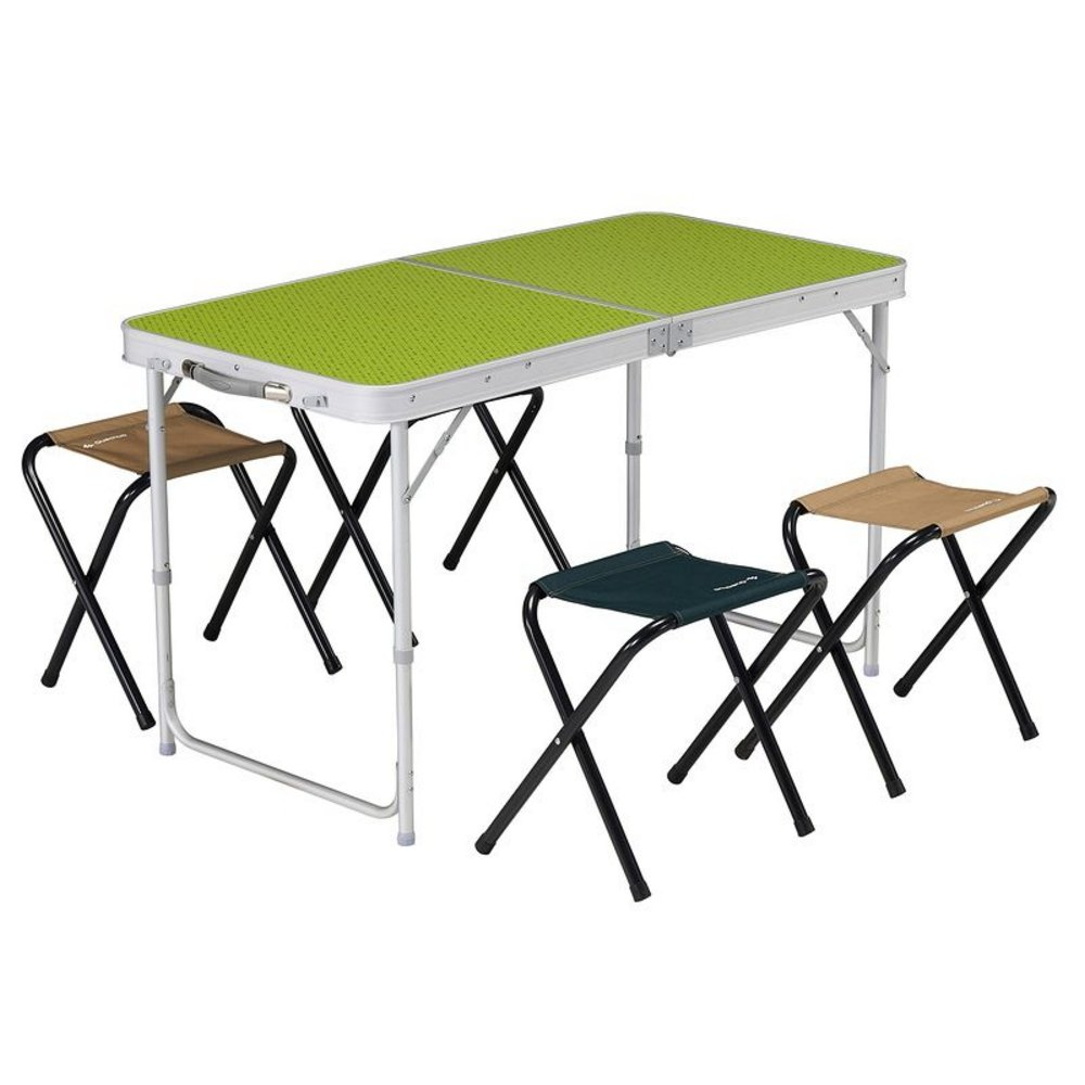 Decathlon quechua 4 places sièges Table de camping pliante ...