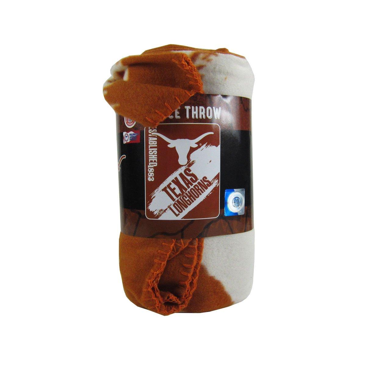 ファッションデザイナー Officially Licensed NCAA Painted Painted Throw Fleece NCAA Throw Blanket – Texas Longhorns B00VF49C0O, sbc:eee5b011 --- mcrisartesanato.com.br