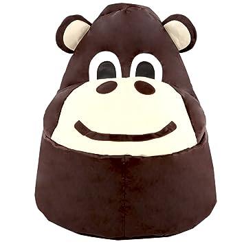 Mono asiento tipo puff para niños: Amazon.es: Hogar