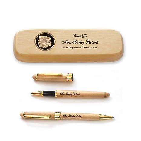 Amazon.com: Thanh 39 de personalizado de madera caso y dos ...