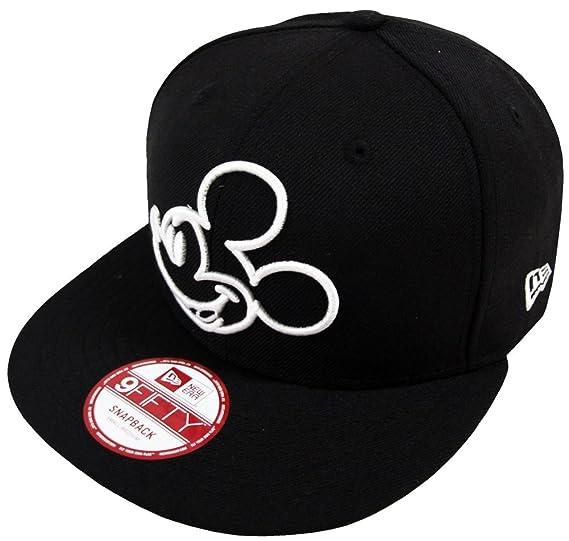 f8decd98854 New Era Mickey Mouse OU Black Snapback Cap 9fifty M L Limited Edition Disney