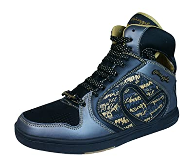 84eaed63af12e Pineapple Womens High Top Trainers Shoes  Amazon.co.uk  Shoes   Bags