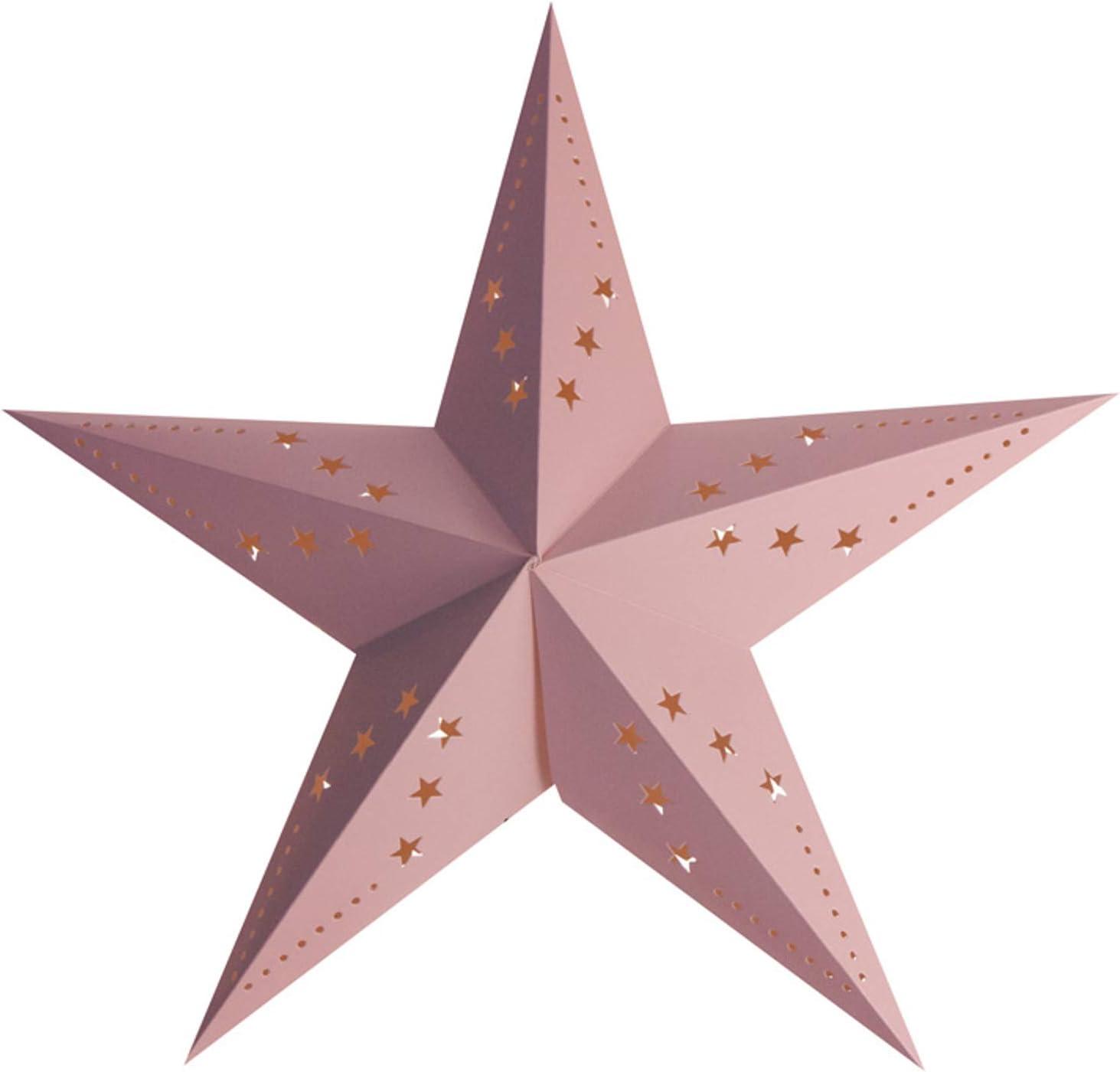 Party Pro 50251S Lanterne /étoile rose 30 cm