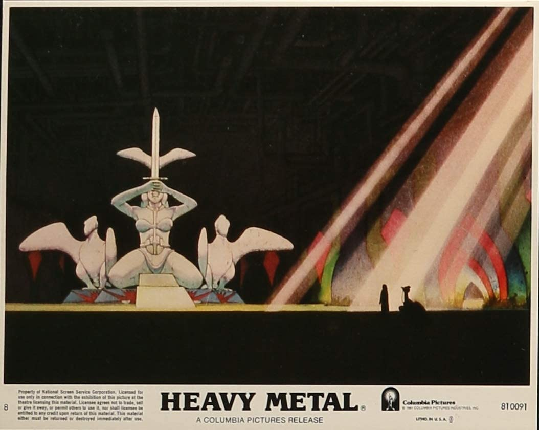 Heavy Metal 1981 Original Studio Lobby Card Taarna Sequence At Amazon S Entertainment Collectibles Store