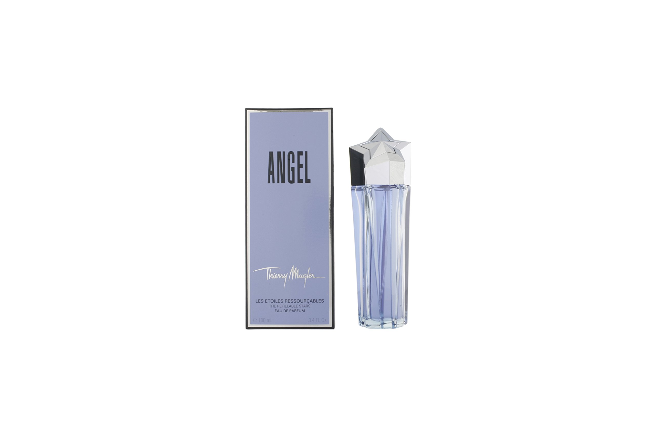 Angel By Thierry Mugler For Women. Eau De Parfum Spray Refillable 3.4 oz (Packaging May Vary) by Thierry Mugler