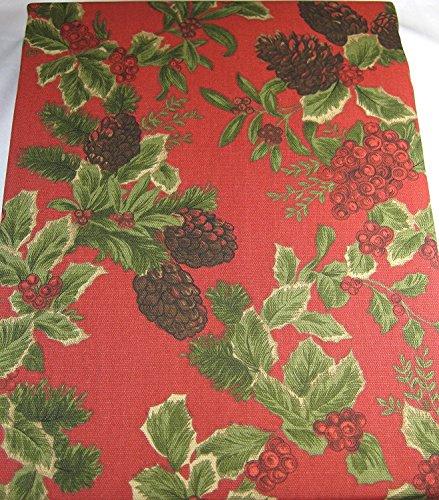 Ralph Lauren Birchmont Holiday Tablecloth, 70-Inch Round 100