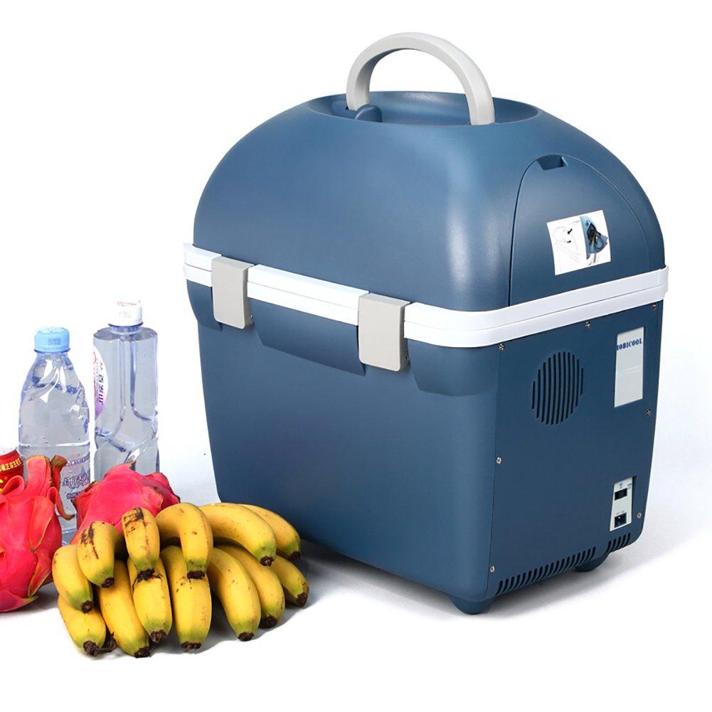 DULPLAY 20 L 車冷蔵庫,クーラー  ウォーマー 保温冷温庫,電気クーラー 小型冷温庫, 220 V  12 V 家庭用発電, 事務所と車- 41.5x30x46cm(16x12x18inch)   B07FTJ1LHB