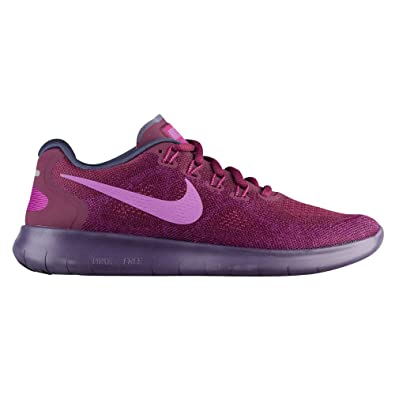 78f855dd3b25 Image Unavailable. Image not available for. Color  Nike Women s Free RN  2017 Running Shoe Bordeaux Monarch ...