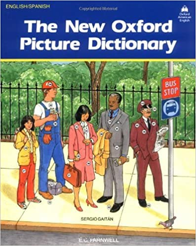 Amazon Com The New Oxford Picture Dictionary English Spanish