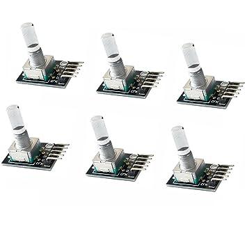 fityle tarjeta de desarrollo Sensor ladrillo codificador para Arduino KY-040