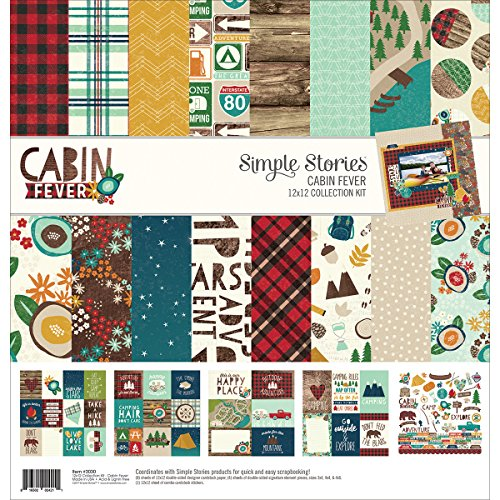 Simple Stories Cabin Fever Collection - Fever Story